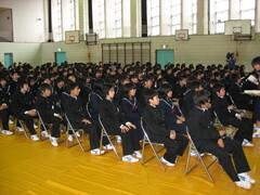 ライオンズクラブ:「佐屋中学1年生職業講話」